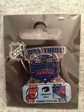 I Was There! Stadium Series NY Rangers vs NJ Devils NHL Hockey 2014 Pin Yankee