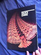 1982 Buick Regal Riviera Electra Skylark Color Original Brochure Prospekt