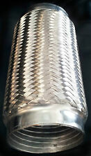 """Stainless Interlock flex 4"""" x 10"""" Exhaust coupling Vibrant 61210 piping Blowout"""