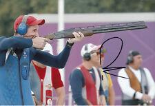 Peter Wilson Firmada A Mano 12x8 Foto Juegos Olímpicos de Londres 2012 De Oro, el 5.