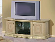 Exklusiver TV-Schrank Plasma Lowboard  HIFI Media Möbel in Beige 160cm breit