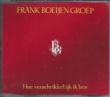 FRANK BOEIJEN - hoe verschrikkelijk ik ben MAXI-CD 3TR 1988 HOLLAND RARE!!