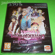 TALES OF XILLIA 2 - DAY ONE EDITION NUEVO Y PRECINTADO PAL ESPAÑA PLAYSTATION 3
