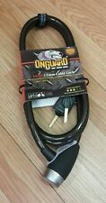 Onguard (5530) 6' High Security 12mm Bicycle Cable Lock w/ Bonus Light-Up Key
