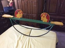 "Rare Vintage Whimsy Weiner Child Seesaw About 57"" Long Teeter Totter Toy"