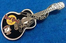 SALT LAKE CITY ELVIS PRESLEY DEAD ROCKER ACOUSTIC GUITAR Hard Rock Cafe PIN