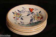 Royal Tudor Delft - Set of 8 Saucer Plates (Barker Bros. Ltd England) VERY RARE