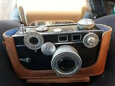 Vintage Argus F/3.5 50 Mm Camera With Leather Case