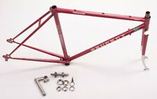 Vintage Peugeot Record Du Monde Course 52 cm Bicycle Frame Set Good Condition