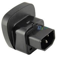 3 Pin Plug Socket C14 IEC-C13 Converter Charger Adapter Computer UPS Connector