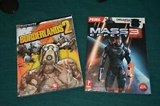 (2) Xbox 1 Master Game guides Fallout 4/Borderlands 2
