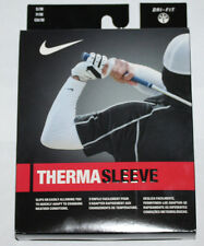 1 Pair Nike Golf Adult Therma Sleeves Style:452754 Color: 100 White Sz XS/S **