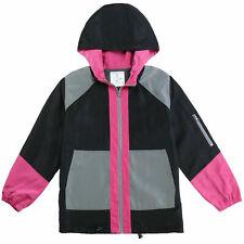 Men's Color Blocked Breathable Soft Waterproof Material Wind Resistant Jacket XL