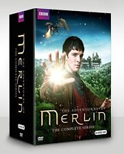 Merlin: The Complete Series season 1 2 3 4 5 (DVD, 2014, 24-Disc Set)