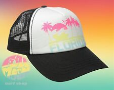 New Billabong Florida Shine On State Womens Trucker Snapback Cap Hat