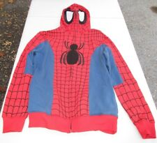 Marvel Spider-Man Cosplay Full Zip Hoodie Guys Size XS NWT