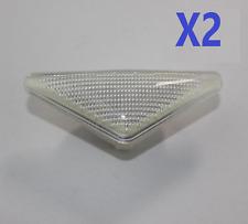 2X FORD FOCUS MK1 MONDEO MK3 SIDE INDICATOR REPEATER LIGHT LAMP LENS 1063835 W2