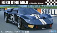 1:24 Scale Ford GT40 MK2 1966 LeMans Black Model Kit #