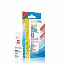 Eveline Cosmetics Nail Therapy Total Action Nail Conditioner 8 In 1 12ml