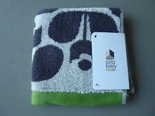 Orla Kiely Brown & Green Washcloth- Stem & Flower Designs Brand New/Tagged