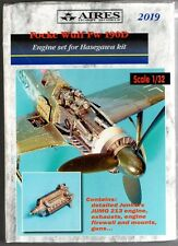 AIRES HOBBY MODELS 2019 - FOCKE WULF FW 190D ENGINE SET - 1/32 RESIN KIT