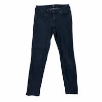 Just Black Womens size 27 Low Rise Dark Wash Stretch Denim Skinny Blue Jeans