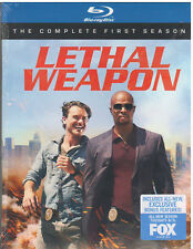 LETHAL WEAPON SEASON 1 (Bluray, 2017) NEW WITH SLEEVE