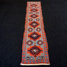 Türkischer Orient Teppich 272 x 61 cm Milas Melas Kars Läufer Carpet Rug Runner