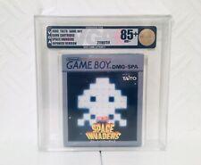 Space Invaders Nintendo Game Boy Graded Vga 85+ Ntsc-j Japan
