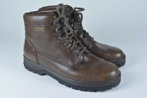 $450 MEPHISTO Slacker Gore-Tex Leather Hiking Boots Brown Men's 9.5 EXCL !!!