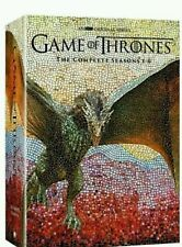 Game of Thrones: The Complete Seasons1-6(DVD, 2016, 1 2 3 4 5 6) 30 DVD Box Set
