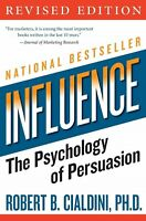 Influence: Psychology of Persuasion by R.B. Cialdini (Paperback, 1999)