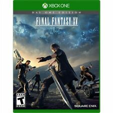 Final Fantasy XV 15 Game Xbox One S Console Day One Edition w/DLC New Ships Fast
