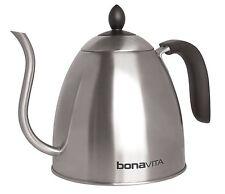 Bonavita 1.0L Stovetop Gooseneck Kettle Dishwasher Safe Easy-Grip Handle 29600