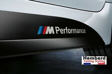 2 Logo Stickers BMW ///M Performance Emblème Autocollants Emblem Motorsport
