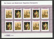 Nederland NVPH 2489 A53-54 Canon van Nederland Napoleon Bonaparte 2007 Postfris