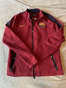 Nike Tech Fleece FCB Barcelona Jacket - Size Large