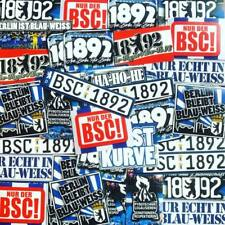 100 x  Berlin Ultra Aufkleber Inspiriert von Hertha BSC Kleber Trikot Fahne