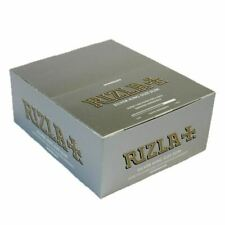 Rizla Silver King Size Slim Ultra Thin Rolling Papers - 50 Pack