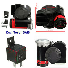139dB Loud Compact Dual Car Auto Truck Motorcycle Boat Bike Electrical Air Horns