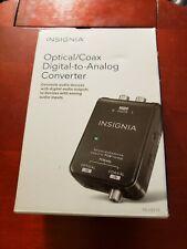 Insignia Optical/Coax Digital to Analog Converter
