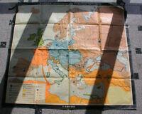 Bismarck Europakarte 145x134 1969 vintage wall map B 俾斯麦战略欧洲地图 JA ビスマルク 戦略