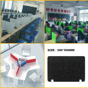 "Desk Divider Panels Desk Shield Office Desktop Partition Privacy Screen 20""x12"""