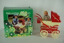 Otto Simon FLEUR doll Baby Carriage and baby doll MIB Dutch Sindy 80's