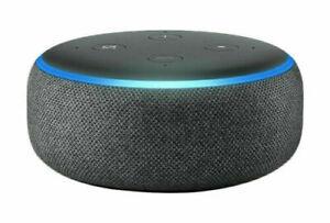 Echo Dot (3. Gen.) Intelligenter Lautsprecher mit Alexa, Schwarz NEU