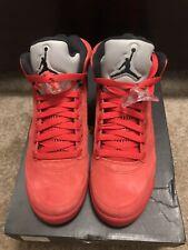 Jordan 5 Retro Red Suede (GS) Size 7