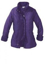 Winterjacke Größe 40 lila Damen Jacke lang dick warm Steppjacke