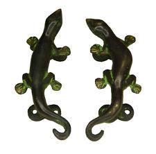 Lizard Shape Antique Vintage Style Solid Brass Handcrafted Door Pull Handle Knob
