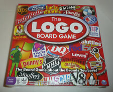 The LOGO Board Game NEW SEALED Brands You Love Brand Names + Products Family