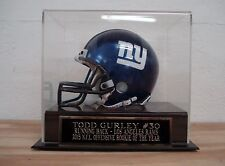 Display Case For Your Todd Gurley Rams Signed Football Mini Helmet
